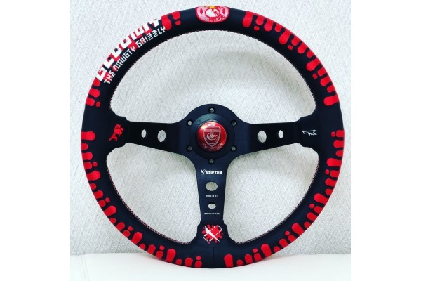 Vertex x Gloomy Collaboration Steering Wheel *Limited Edition*