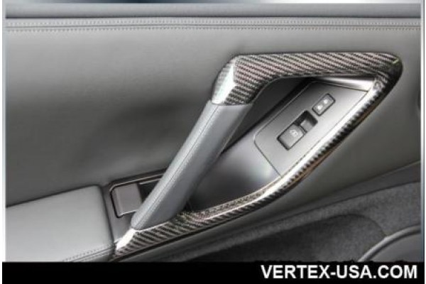R-Vertex 2010-Up Nissan GTR R35 CFRP Interior Door Handles