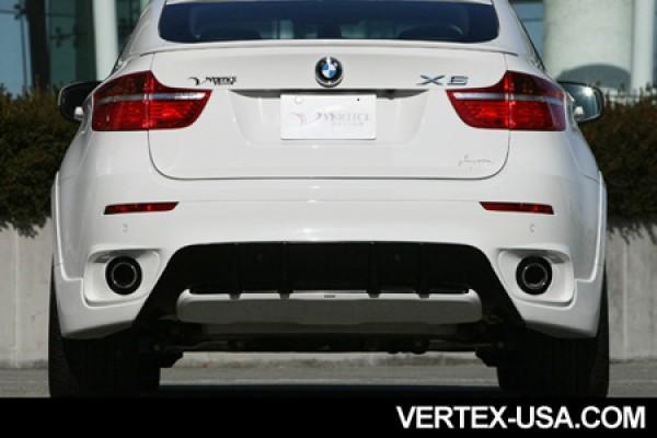 VERTICE DESIGN BMW E71/X6 REAR BUMPER (FRP)