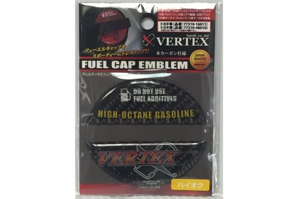 Vertex Fuel Cap Emblem