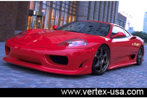 Ferrari 360 Modena Vertice Full Kit-CARBON FIBER