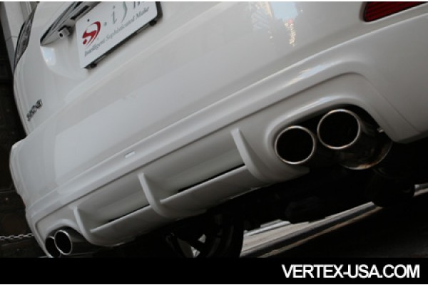 ISM 2004-2009 LEXUS RX (HARRIER) REAR LIP WITH STAINLESS STEEL EXHAUST DUAL EXHAUST