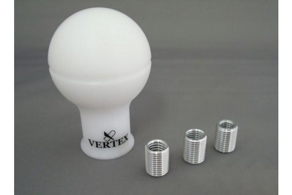 Vertex Monochrome Shift Knob White
