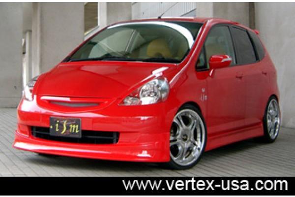Honda Fit ISM Front Half Spoiler (Front Lip)