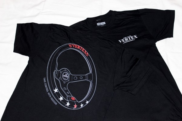 "Import Bible x Vertex ""Take Control with Passion"" Collaboration T-Shirt"