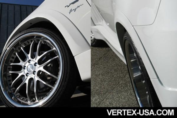 VERTICE DESIGN BMW E71/X6 REAR FENDER EXTENSIONS (FRP)