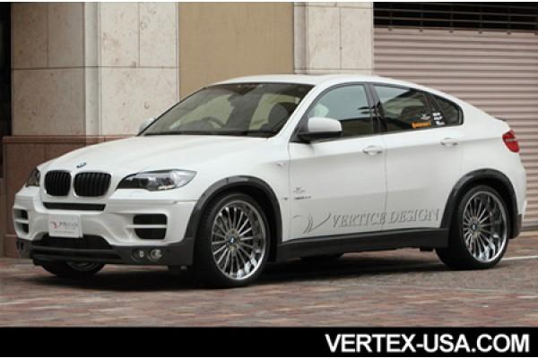 VERTICE DESIGN BMW E71/X6 FRONT BUMPER (CFRP)
