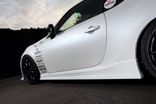 VERTEX TOYOTA 86/SCION FR-S SIDE SKIRTS