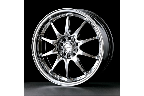 Volk Racing CE28N 10 Spoke Design Formula Silver/Diamond Cut