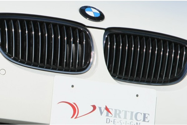VERTICE DESIGN BMW E92 M3 FRONT GRILL (BLACK PLATE COATING)