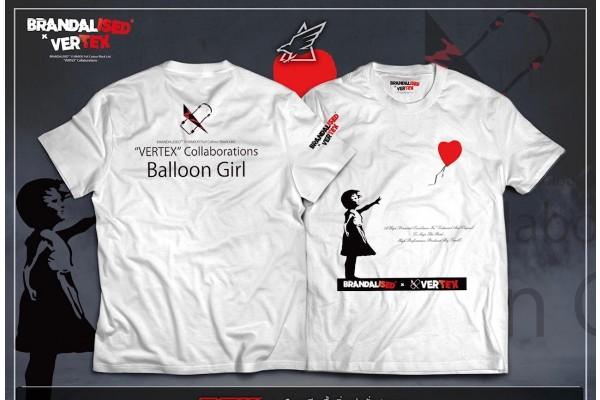 BRANDALISED X VERTEX BALLOON GIRL T-SHIRT