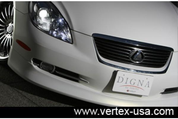 2005+ DIGNA LEXUS SC430 FRONT HALF LIP