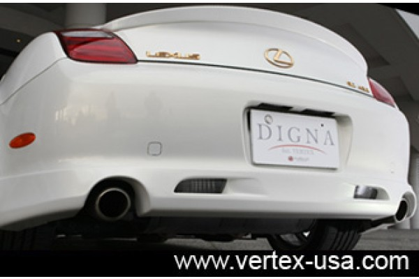 DIGNA LEXUS SC430 REAR HALF LIP