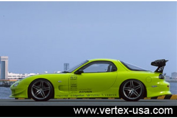 92-02 Vertex RX7 Side Skirts