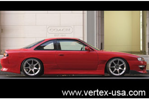 97-98 240SX (S14) Vertex Side Skirts