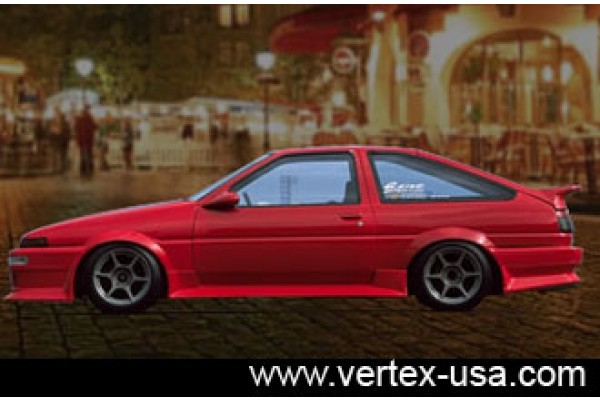 Toyota Corolla AE86 Side Skirts