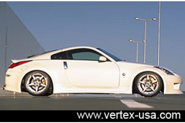 Vertex Nissan 350Z Side Skirts