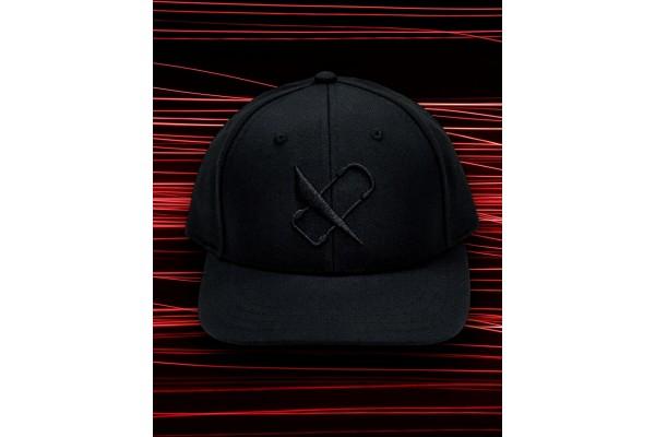 King of Vertex Hat - Black